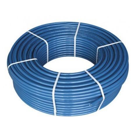 Труба полиэтиленовая Ворсклапласт Ø25x2,7 синяя 10 атм