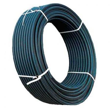 Труба полиэтиленовая Ворсклапласт Ø50x3,7 черная 6 атм