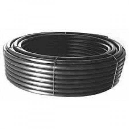 Труба полиэтиленовая Никифоров STR Ø50x2.9 черная 6 атм 100м