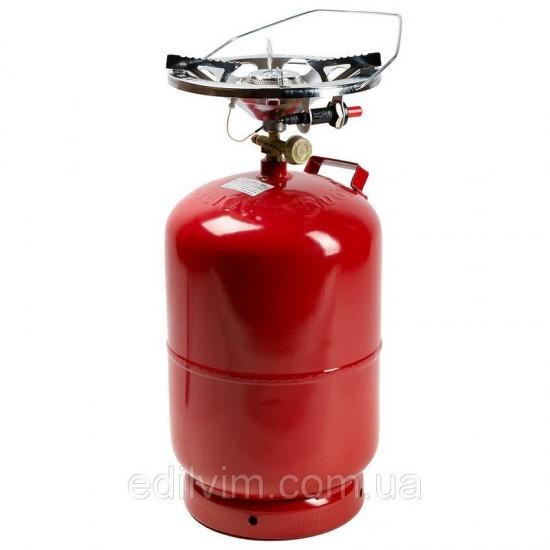 Газовый комплект Rk-5 (2.6kw/пьезо) Пикник-Italy 12,5л Rudyy