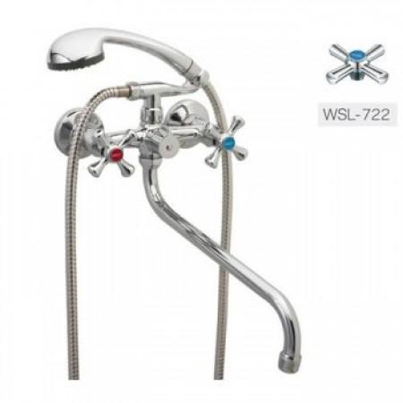 Смеситель для ванны ZERIX DMT 722