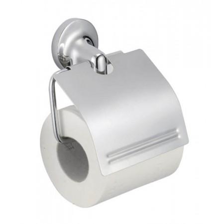 Держатель для туалетной бумаги с крышкой GF Italy (CRM)/S- 2803