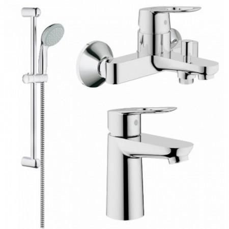 Комплект смесителей Grohe BauLoop 123214S для ванной S-Size