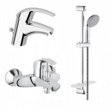 Комплект смесителей Grohe Eurosmart 123238S для ванной S-Size