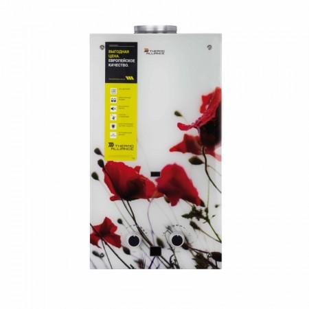 Колонка газовая дымоходная Thermo Alliance JSD20-10F2 10 л стекло (цветок)