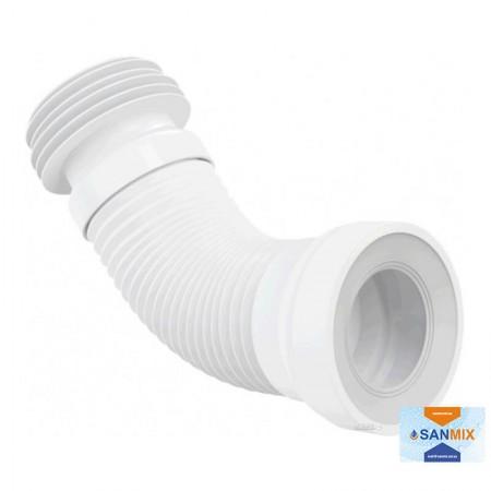 Гофра для унитаза Alca Plast A97 (8594045933468) 280-550 мм