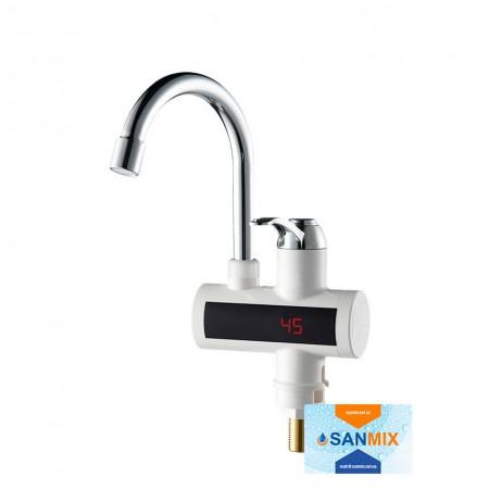 Кран водонагреватель с датчиком температуры Wezer SDR-A15T