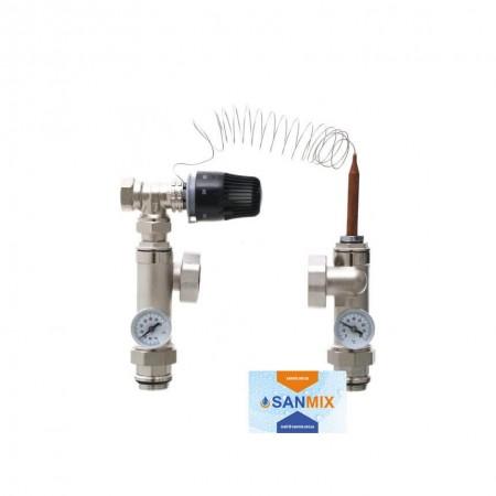 Смесительная система для напольного отопления HS-02 GROSS
