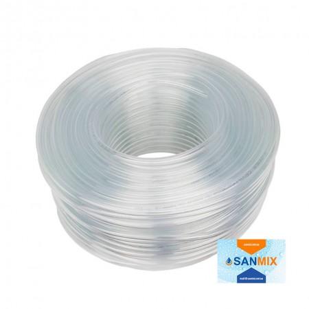 Трубка ПВХ пищевая прозрачная Symmer SC crystal 16 мм 50 м