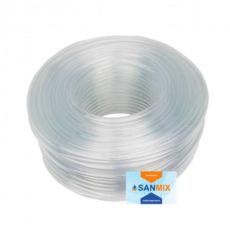 Шланг ПВХ прозрачный пищевой Symmer SC crystal 18 мм 50 м