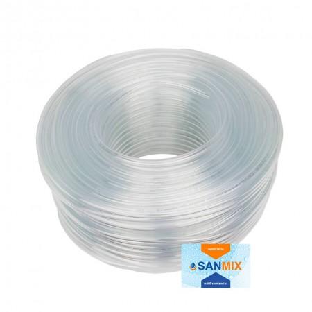 Шланг ПВХ прозрачный пищевой Symmer SC crystal 20 мм 50 м