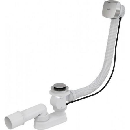 Сифон Alca Plast A51CR  для ванны автомат комплект хромированный