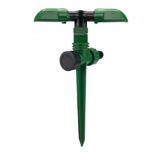 Дождеватель круговой на пластиковом колышке с верхней подачей GRAD (5014105)