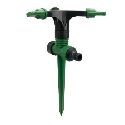 Дождеватель круговой на пластиковом колышке с боковой подачей GRAD (5014115)