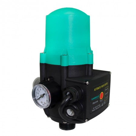 Электронный контроллер давления SHIMGE PS-01A с манометром