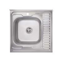 Кухонная мойка Imperial 6060-L Satin 0,6мм