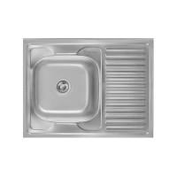 Кухонная мойка Imperial 6080-L Polish 0,8мм