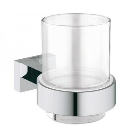 Стакан с держателем Grohe EX Essentials Cube 40755001