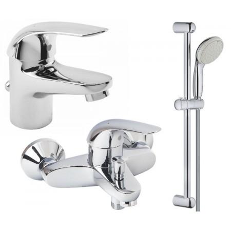 Набор для ванны 3 в 1 Grohe EX Euroeco 123226S
