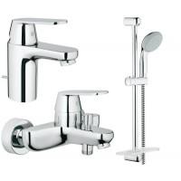 Набор смесителей для ванной S-size Grohe EX Eurosmart Cosmopolitan 126111S