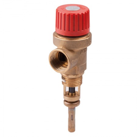 """Предохранительный клапан температуры и давления 1/2  3 бара """"Icma"""" №266"""