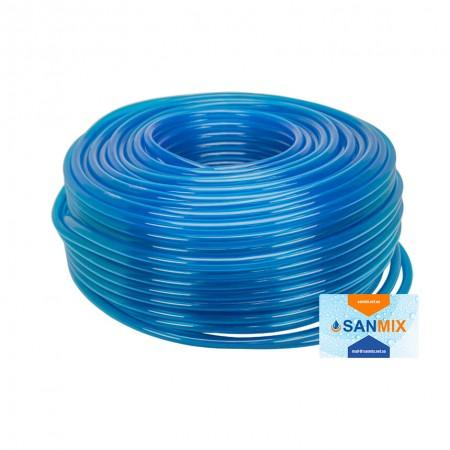 Шланг ПВХ технический Symmer SHB chemex 8 мм 100 м синий