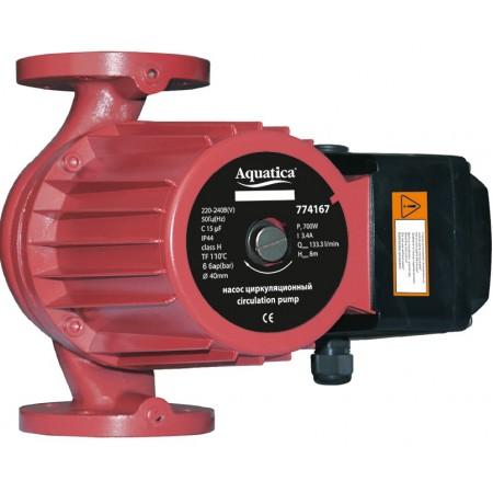 Насос  Aquatica циркуляционный фланцевый 774198, 1.3кВт Hmax 20.3м Qmax 300л/мин DN50 280мм + отвент. флан.