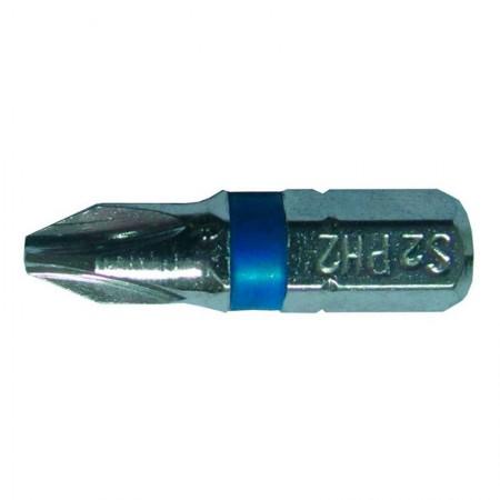Набор бит Ph2x25мм ¼ 10шт S2 Chrome (лента) Sigma (4010251)