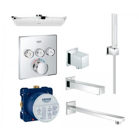 Набор для ванны и душа скрытого монтажа Grohe EX SmartControl 34506SC2