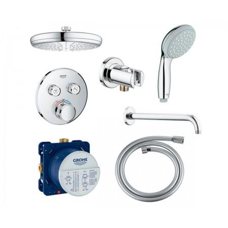 Набор для ванны и душа скрытого монтажа Grohe EX SmartControl 34614SC0