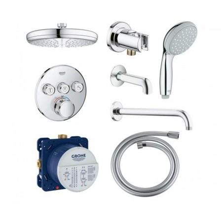 Набор для душа и ванны скрытого монтажа Grohe EX SmartControl 34614SC2