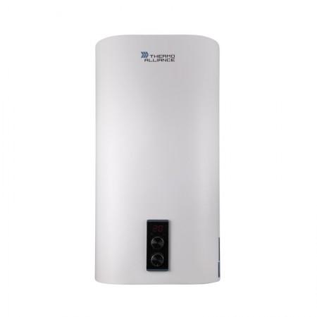 Электрический водонагреватель плоский Thermo Alliance 100 л мокрый ТЭН DT100V20G(PD)