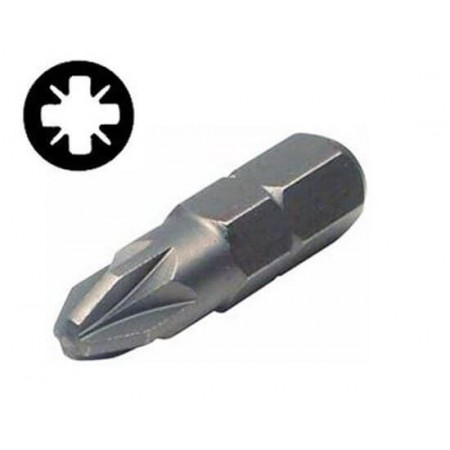 Набор бит PZ3x25мм ¼ 25шт S2 (пласт кейс) Ultra (4010602)
