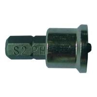Набор бит с ограничителем Ph2x25мм ¼ 10шт S2 (блистер) Sigma (4010281)