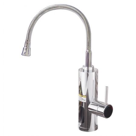 Кран водонагреватель проточный с гибким гусаком Wezer SDR-F08
