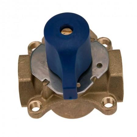 Терхходовой термо кран KARRO 1 дюйм с механической регулировкой