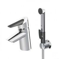 Смеситель для умывальника Oras Optima 2703F с термоблоком и ручным душем Smart Bidetta
