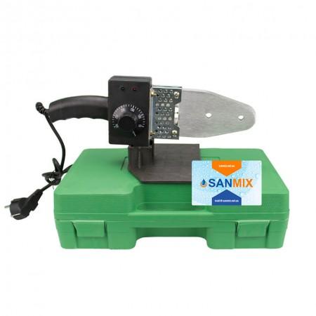 Паяльник плоский для пластиковых труб SLAT 20-63 мм 800 Вт