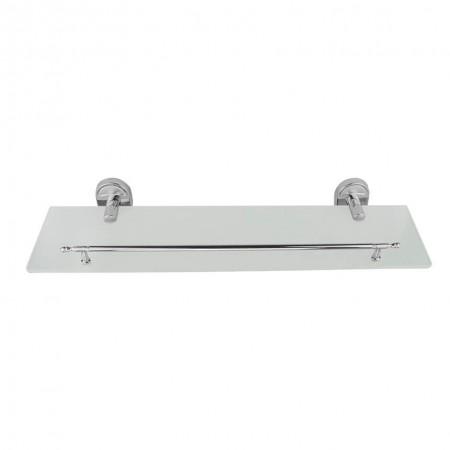 Полка для ванны Frap F1907 стеклянная