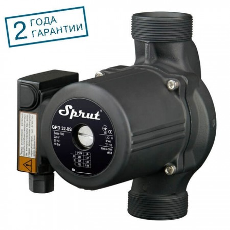 Циркуляционный насос GPD 32-8S-180 SPRUT