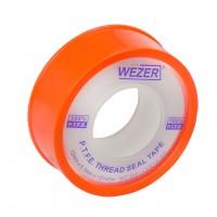 Фум лента Wezer 12 мм х 0,1мм х 12 м