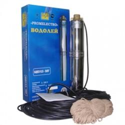 Насос Водолей скважинный БЦПЭ 0,5-63У кабель 40м