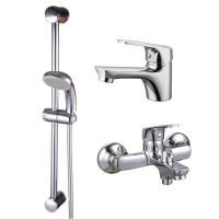Комплект смесителей для ванной Q-tap Set CRM 35-111