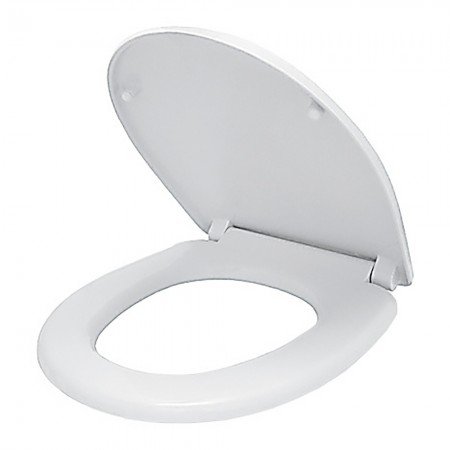 Сиденье для унитаза с металлическими гайками АНИ-пласт WS0210