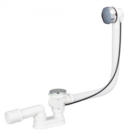 Сифон Alca Plast A51CRM для ванны автомат комплект хромированный