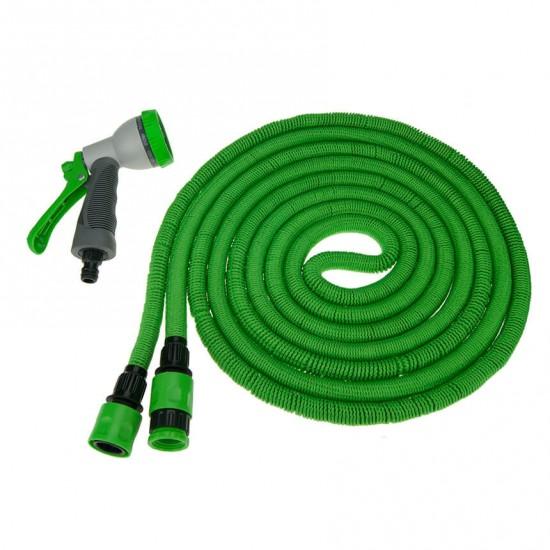 Растягивающийся шланг для полива TORUS A2 5-15 м с пластиковым коннектором