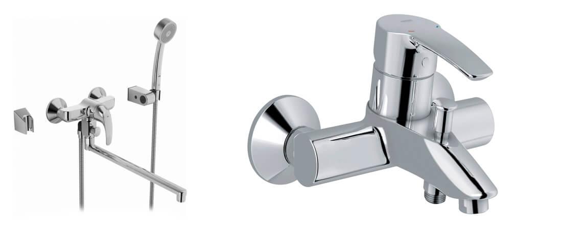 Однозахватные смесители для ванны