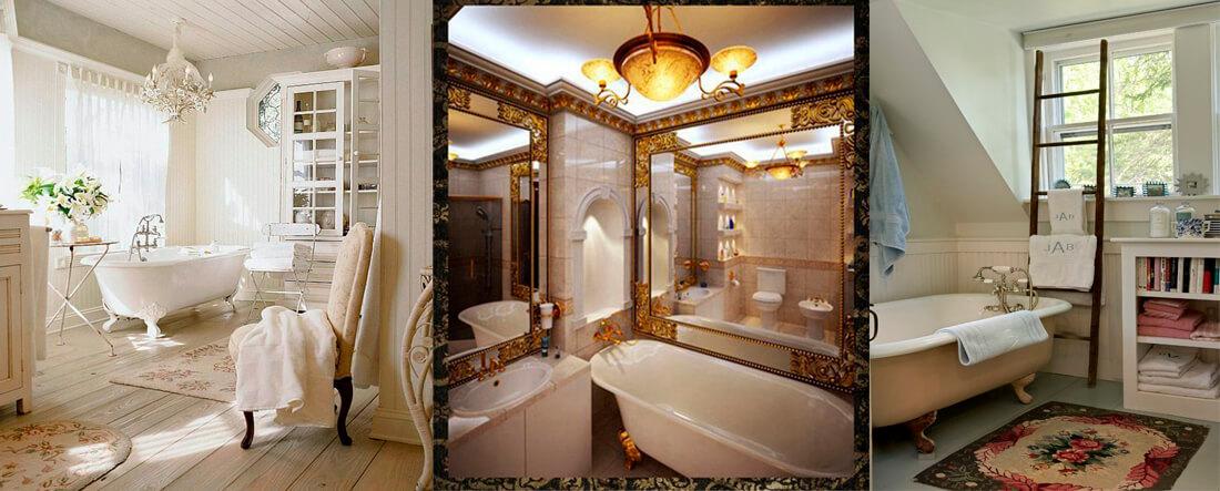 Ретро смесители в ванную комнату